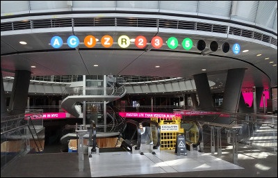 Fulton Transit Center Interior