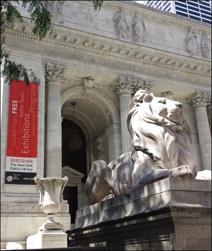New York Public Library Humanities and Social Sciences Library